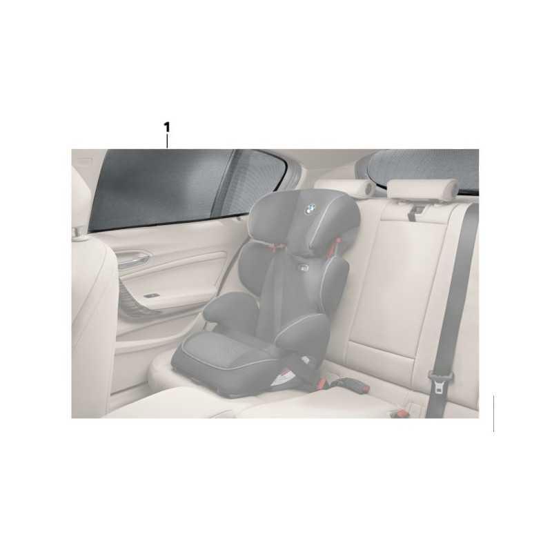 Protection solaire BMW 2-Série f45 ACTIVE TOURER 2014-4 pièces