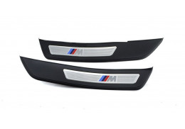 """Barres de seuil portes arrière """"M"""" pour BMW Série 5 F10 F11"""