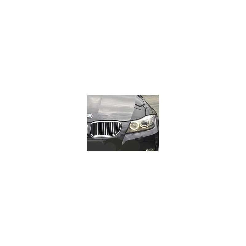 1 paire de calandre avant /à double ligne 5 pour BMW E92 LCI E93 318i 320i 328i 335i coup/é 2DOOR 2010~2014 C