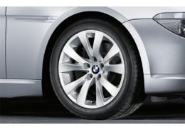 """Jante 18"""" Style 248 à rayons en V pour BMW Série 6 E63 E64"""