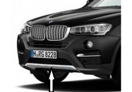 BMW Neuf D/'Origine X 6 Série F16 Pare-Chocs Arrière Crochet Remorquage Cache