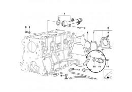 Générateur d'impulsion de vilebrequin avec joint pour BMW Série 5 E39 E60 E61