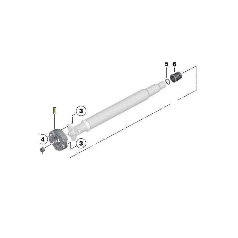 Flector de pont arrière pour BMW Série 6 E63 E64 F12 F13 F06 GC