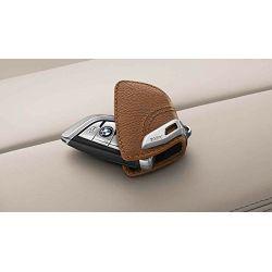 Etui à clés BMW MOKKA avec fermoir en acier inox pour BMW X1 F48