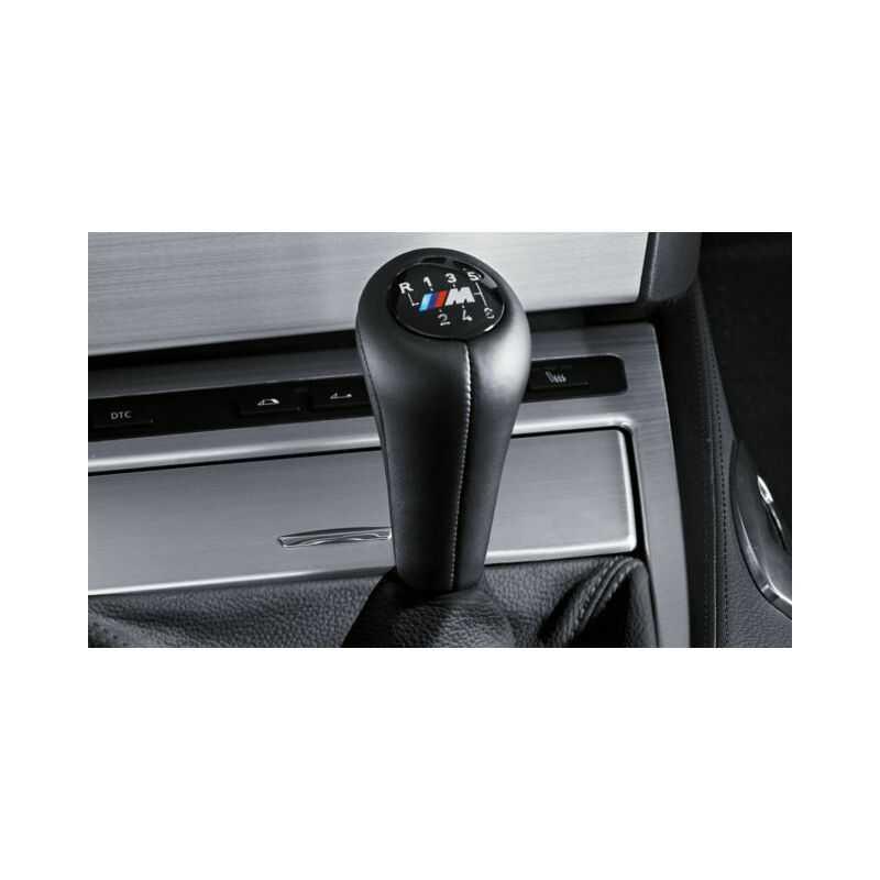 Pommeau de levier de vitesses M gainé cuir BMW Série 3 E46