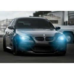 "Ampoules xénon BMW Blue ""angel-eyes"" blancs BMW Performance pour Série 3 E90 E91 E92 E93"
