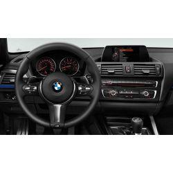 Cache de volant noir/chromé pour BMW Série 1 F20 F21