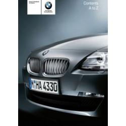 Notice d'utilisation du véhicule pour BMW Z4 E89
