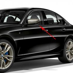 Baguette de porte avant inférieur chromées coté au choix BMW Série 3 E90 E91 E92