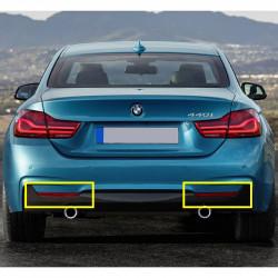 BMW 3 Série E46 M Sport Pare-chocs arrière eau déflecteur