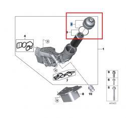 Couvercle de filtre à huile pour BMW X6 G06