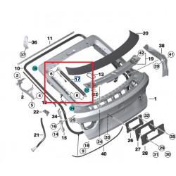 Vérin de coffre pour Bmw Serie 3 E46 Berline et Coupé