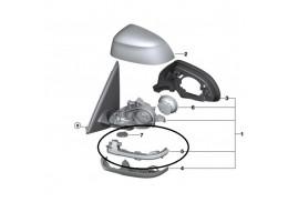 Clignotant additionnel de rétroviseur extérieur pour BMW X5 F15